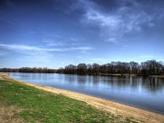 Early Spring at the River (kendoman26) Tags: fuji hdr fujifinepix illinoisriver photomatix morrisillinois enjoyillinois travelillinois strattonstatepark fujifinepixs1