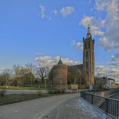 roermond rur Christoffelkathedraal _Panorama16 (seyjo) Tags: panorama church buildings river places location maas hdr roermond urbanscape historiccity rur dutchcity steenenbrug seyjo