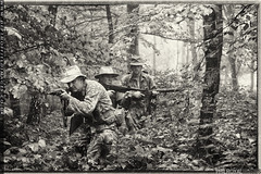 French Indochina (zoomerphil) Tags: french soldier three attack vietnam jungle stealth patrol creep nam legion indochina infiltrate