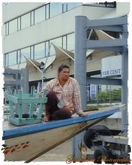 Lady on the boat (Ghatahora Photography) Tags: thailand singapore chaophrayariver boathouses hampshirephotographer songsoftheseasingapore bhupinderghatahora ghatahoraphotography chinesepogodatowertemple floatingmarketchaophraya tourriverbangkokthailand marketoutsidewatarun