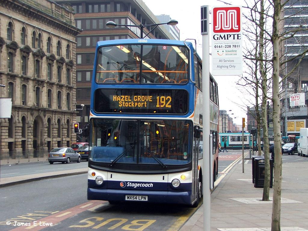 18186 (MX54 LPN) - Portland Street, Manchester (didsbury_villager) Tags:  manchester
