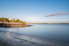 Autumn, Torpedo Bay Beach (duncan_mclean) Tags: longexposure seascape landscape evening auckland filter le lee devonport torpedobay bigstopper