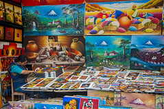 What is in my purse? (pedro katz) Tags: woman ecuador paintings otavalo