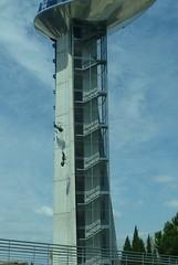 Grenade, Andalousie: Tour d'observation de 37 mtres de haut dans le Parc des sciences, 1995,  Carlos Ferrater, prix National d'Architecture en 2009,, (Marie-Hlne Cingal) Tags: stairs hormigas granada ants scala grenade espagne escaleras andalousie treppen escaliers fourmis
