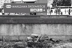Warszawa (wonderwarthog) Tags: polen warszawa penner clochard warschau armut elend