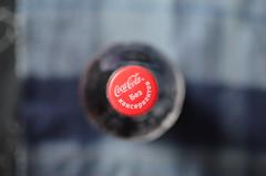 red (panikyu) Tags: red closeup cap cocacola