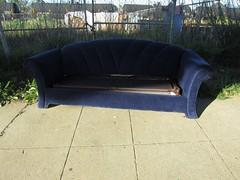 Royal Blue (Bart D. Frescura) Tags: blue light color couch bayarea lightandshadow bdf lightanddark dropoff