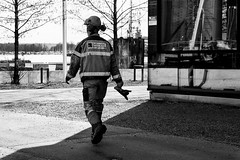 Finished for to day (Mona_Oslo) Tags: blackandwhite oslo labor lambda drilling bjrvika monajohansson foundationconstructor