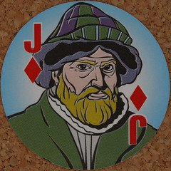 Round Playing Card Jack of Diamonds (Leo Reynolds) Tags: playing deck card squaredcircle playingcard carddeck xleol30x
