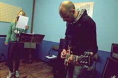IMG_5236 (PsychopathPh) Tags: la sala musica toscana anima prato nell cantante musicisti prove chitarrista bassista batterista inaudito