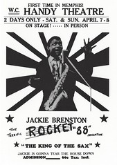 Jackie Brenston (LORAC!) Tags: memphis rocket88 jackiebrenton