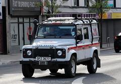 Irish Cave Rescue Organisation / ICRO1 / OFZ 3677 / Land Rover Defender / 4x4 Vehicle (Nick 999) Tags: blue irish rescue lights 4x4 rover led land vehicle leds cave emergency defender sirens organisation landroverdefender 3677 ofz 4x4vehicle icro icro1 irishcaverescueorganisation ofz3677
