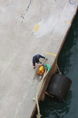 Ready to go (demeeschter) Tags: sea italy como boat harbour corsica ferries vado ligure savona