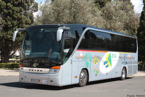 Setra S 415 HD 9913 Eva Transportes, Praça do Império, 11 de Abril de 2016
