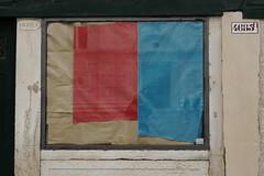 surface4 (lux fecit) Tags: blue red reflection window shop reflet venezia