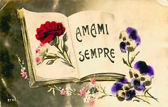 AMAMI SEMPRE (consus-france) Tags: sempre postale carte amini