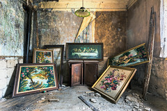 Abandoned Maison (Urbex Diary) Tags: old travel urban home dinner canon lost eos place decay jesus picture haus abandon exploration f28 ue 6d urbex 1635