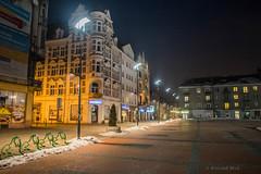 Bytom (nightmareck) Tags: winter night europa europe fuji poland polska handheld fujifilm zima fujinon silesia bytom pancakelens xe1 apsc mirrorless lskie grnylsk xtrans fotografianocna xmount xf18mm xf18mmf20r bezlusterkowiec
