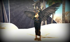 Isis (eloen.maerdrym) Tags: life for wings ancient egypt medieval fantasy horus gods pills nm wasabi ra isis relay mss roleplay nephilim releases ooostudio violentseduction vengefulthreads cubiccherrykreations {zoz} otherskin fantasyfaire2016 eloensotherworld
