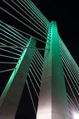 Tillikum Crossing (Ricky Leong) Tags: travel bridge urban architecture night oregon portland photography design random photowalk