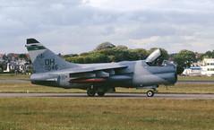 70-1046. Ohio ANG LTV A-7D Corsair II (Ayronautica) Tags: june military scanned 1989 airnationalguard unitedstatesairforce vought usang ohioang ltva7dcorsairii 701046 ayronautica