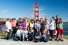PEO Chapter GR Bridge Walk (chiaraogan) Tags: sanfrancisco california goldengatebridge peo bridgewalk chaptergr