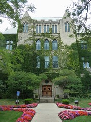 River Forest, IL, Dominican University, Main Entrance (Mary Warren (6.7+ Million Views)) Tags: door windows building college architecture gothic entrance limestone dominicanuniversity riverforestil