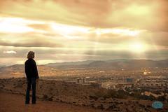 0411 IMG_4136 (JRmanNn) Tags: sunrise lasvegas angela greenvalley sunrays sunsetroad whitneymesatrailheadsouth