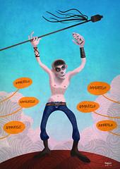 MAD MAX FURY DRAW - Marco Polenta (Sugarpulp) Tags: comics tribute fumetti madmax illustrazione sugarcon sugarpulp sugarpulpconvention
