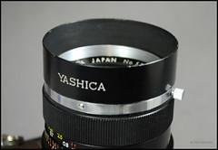 Yashica Lens Hood (01) (Hans Kerensky) Tags: lens clamp 50mm display tl x electro hood yashica 117 54mm yashinondx