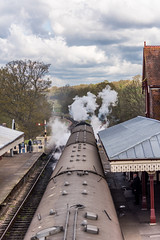 Pulling Away (Nick_Rowland) Tags: train sussex railway steam engines preservation bluebellrailway sheffieldpark