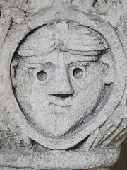 20150324 Isre Vienne - Cloitre Saint Andr le Bas-022 (anhndee) Tags: sculpture france frankreich glise eglise vienne rhonealpes isre