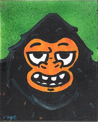 002 (Andy Finkle Art) Tags: cartoon grin bigfoot cryptid finkle