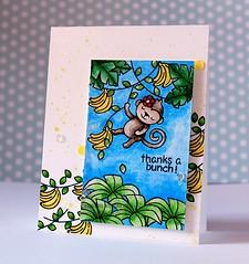 Thanks a Bunch (Chitra Nair.) Tags: cards handmade coloring greetingcard copics cardmaking handmadecards papercrafting watercoloring kuretakegansaitambi gansaitambiwatercolors