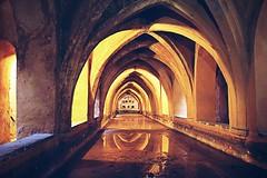bathroom (patoche 38) Tags: architecture bathroom sevilla spain arches andalucia alcazar andalousie bains andalousia