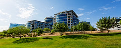 Hayden Ferry Lakeside ([p r a t y u s h 360 | PHOTO]) Tags: arizona sky southwest building tree architecture canon landscape outdoor tempe 1740l canon5d3