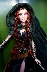 Forest Elf (ozthegreatandpowerful) Tags: white water lady forest dark gold woods doll dolls label barbie sprite queen elf limited edition faraway