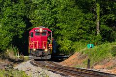 GNRR 9706 north (Kyle Yunker) Tags: train georgia northeastern emd gp38 gnrr