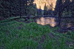 Merced River at Sunset. Yosemite California (Travel to Eat) Tags: california nationalpark scenery yosemite mercedriver