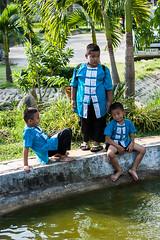 Boys on the Pond 6041 (Ursula in Aus - Away) Tags: thailand thep maehongson