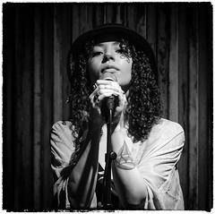 Ambivalensen_1 (Patrik hman) Tags: portrait blackandwhite music monochrome livemusic singer roasters ambivalensen