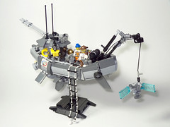 """""""Voyager"""" - Ian McQue Inspired Airship (Intentor) Tags: lego space future postapocalyptic"""
