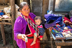 Palong Artisan with Child (chasingthelight10) Tags: travel people thailand photography landscapes countryside events places villages chiangmai chiangdao palongvillage thaipalongvillagers