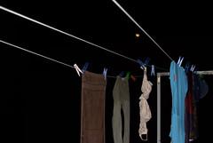 svart- Hanging laundry under the moon (suskon72) Tags: svart fotosondag fs160131