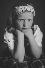 _DSC8147 (SteinaMatt) Tags: portrait white black girl matt photography faces expression steinunn ljsmyndun steina matthasdttir dagbjrtmara steinamatt