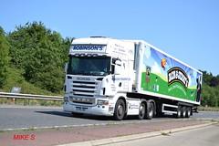 Scania R470 'Robinson's Transport Ltd' reg RTL 50 (erfmike51) Tags: lorry artic scaniar470 robinsonstransportltd