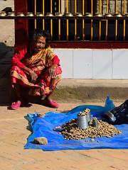 Peanut Vendor (jfusion61) Tags: nepal square nikon market valley d750 peanut kathmandu vendor durbar bhaktapur 2470mm