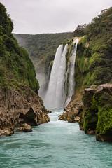 Cascada de Tamul (Eneas) Tags: verde water waterfall watershed cascada tamul sanluispotosí aquismón