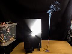 Smoke Setup (GLNPhotography) Tags: studio smokeart fujix10