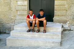Claudio e Corrado (dmambret) Tags: 2002 puglia vacanze